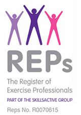 The Register of Exercise Professionals logo